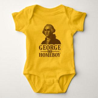 George Washington Is My Homeboy Baby Bodysuit