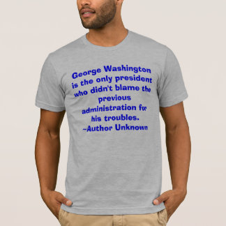 George Washington is the only president... men's t T-Shirt