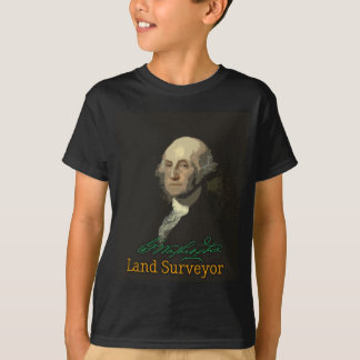 George Washington Land Surveyor T-Shirt