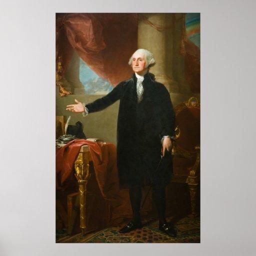"George Washington ""Lansdowne"" Portrait Poster"