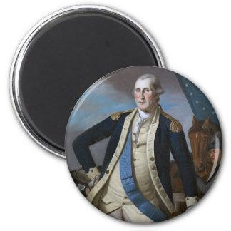 George Washington 2 Inch Round Magnet