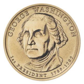 George Washington Melamine Plate