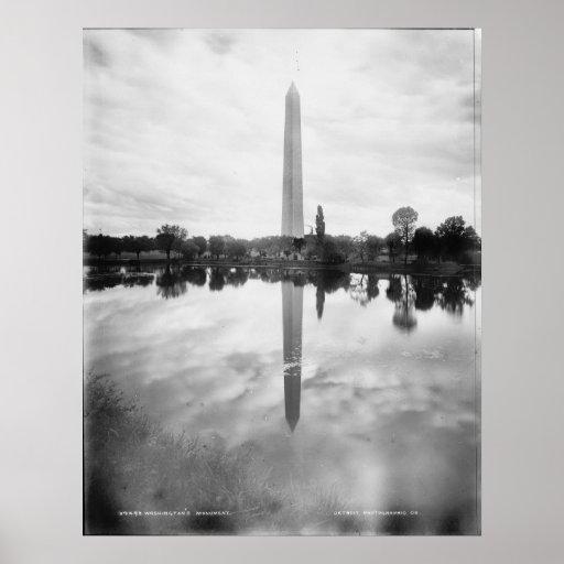 GEORGE WASHINGTON MONUMENT POSTER