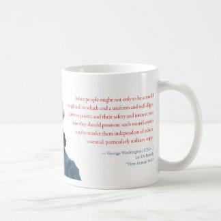 """George Washington Mug #2 """"Defense Manufacturing"""""""
