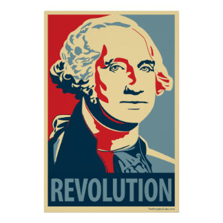 George Washington: Obama parody poster