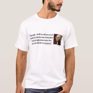 George Washington on Gun Rights T-Shirt