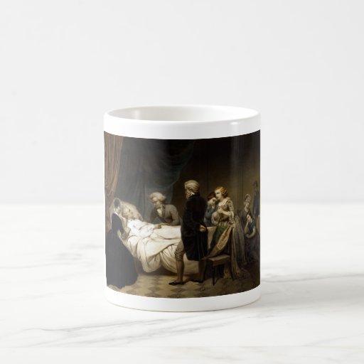 George Washington On His Deathbed Coffee Mugs