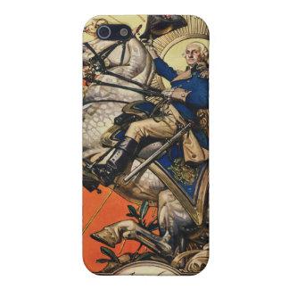 George Washington on Horseback iPhone 5 Covers