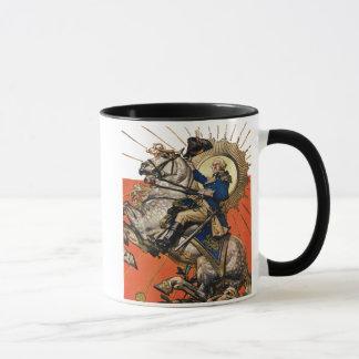 George Washington on Horseback Mug