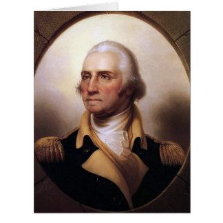 George Washington On Providence Card