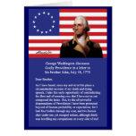 George Washington On Providence Greeting Card