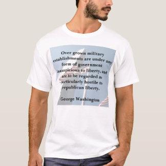 George Washington on the Military T-Shirt