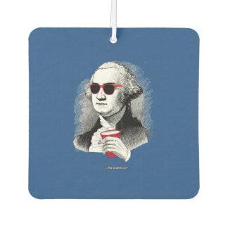 George Washington Party Animal Car Air Freshener