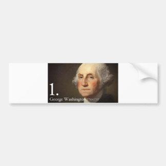 George Washington Pegatina Para Auto