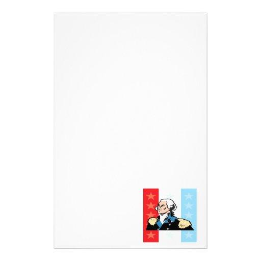 George Washington Personalized Stationery