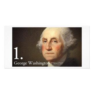George Washington Photo Card
