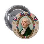 George Washington Pin Redondo De 2 Pulgadas