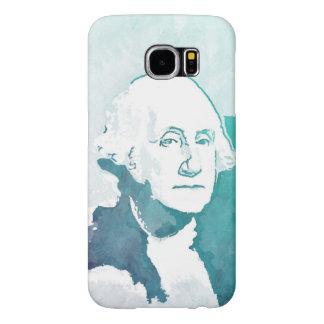 George Washington Pop Art Portrait Samsung Galaxy S6 Cases