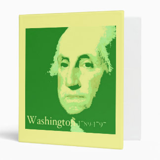 George Washington PopArt Carpeta 1""