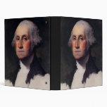 George Washington Portrait 1 Binder