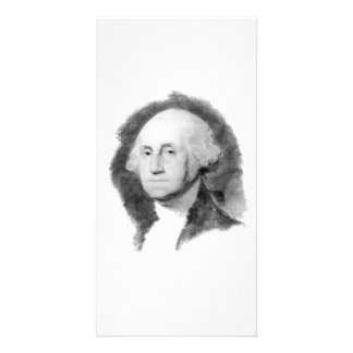 George Washington Portrait collector photo card