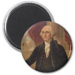 George Washington Portrait Fridge Magnets
