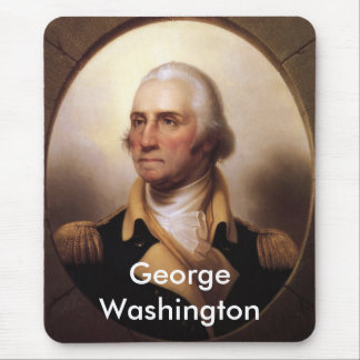 George Washington Portrait Mouse Pad