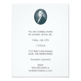 George Washington Portrait Oval Announcements
