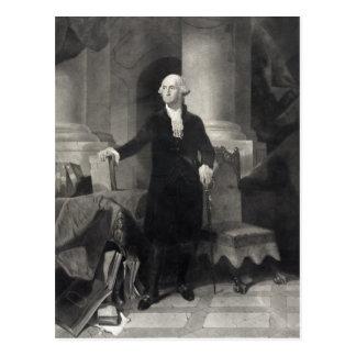 George Washington Portrait postcard