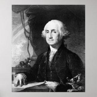"""George Washington Portrait"" poster/print Poster"