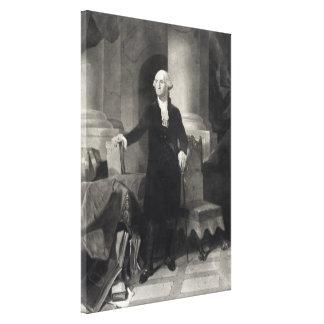 """George Washington Portrait"" wrapped canvas print"