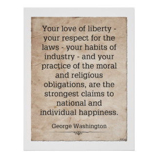 George Washington Póster