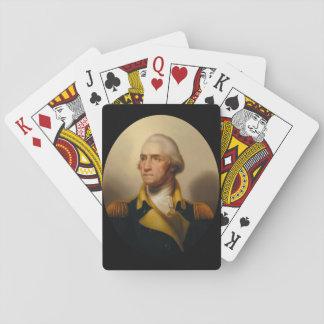 George Washington, primer presidente de los Cartas De Póquer
