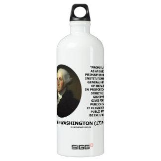 George Washington promueve la difusión del