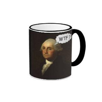 """""""George Washington que hace girar en su Grave Taza De Café"""