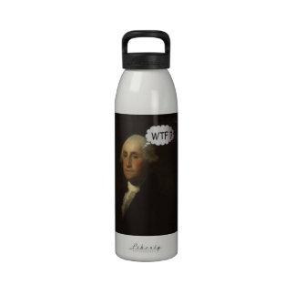 George Washington que hace girar en su sepulcro Botellas De Beber