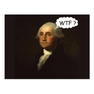 George Washington que hace girar en su sepulcro Tarjetas Postales