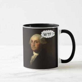 George Washington que hace girar en su sepulcro Taza