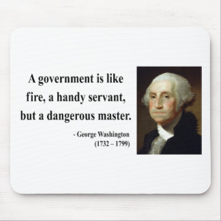 George Washington Quote 1b Mouse Pad