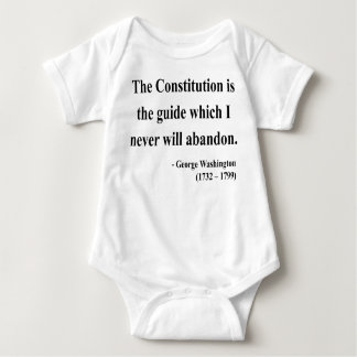 George Washington Quote 4a Baby Bodysuit