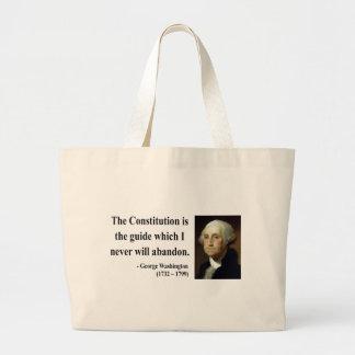 George Washington Quote 4b Large Tote Bag