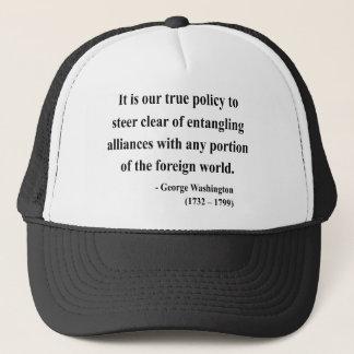 George Washington Quote 5a Trucker Hat