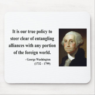 George Washington Quote 5b Mouse Pad