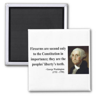 George Washington Quote 6b 2 Inch Square Magnet
