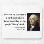 George Washington Quote 6b Mouse Pad