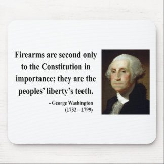 George Washington Quote 6b Mouse Pad