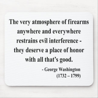 George Washington Quote 7a Mouse Pad