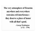 George Washington Quote 7a Postcards