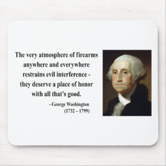 George Washington Quote 7b Mouse Mats