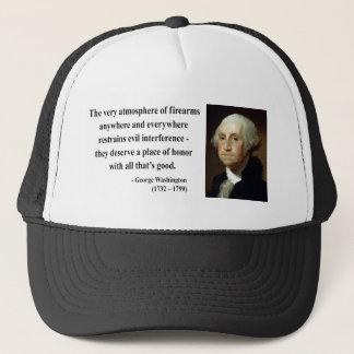 George Washington Quote 7b Trucker Hat